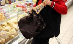 31enne fermata dopo un furto nel supermercato