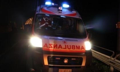Ciclista investito grave 30enne SIRENE DI NOTTE