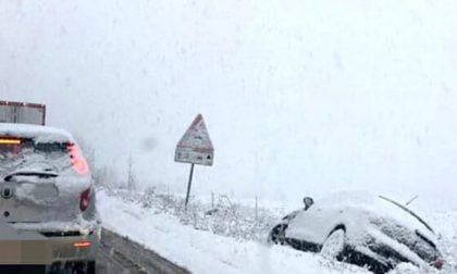 Arrivata la neve e anche gli incidenti SIRENE DI NOTTE