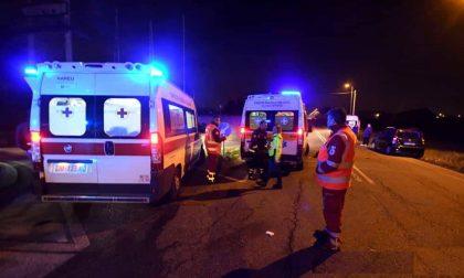 Fuori strada a Goito, grave un 51enne SIRENE DI NOTTE