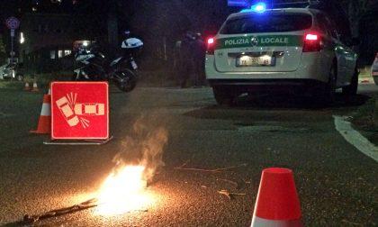 Incidente stradale a Curtatone, gravi due uomini SIRENE DI NOTTE