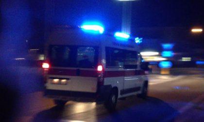 Caduta al suolo a Borgo Virgilio, bambina di 2 anni in ospedale SIRENE DI NOTTE
