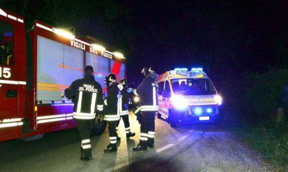 Incidente stradale a Castiglione delle Stiviere, ferite 3 persone SIRENE DI NOTTE
