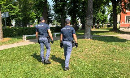 Controlli di Polizia in città e a Borgo Virgilio
