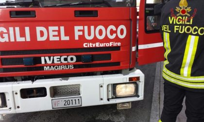 Furgone disabili a fuoco a Gonzaga