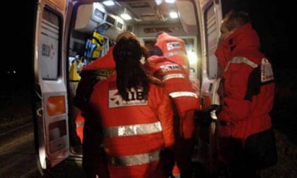 Incidente stradale a Poggio Rusco, tre persone in ospedale SIRENE DI NOTTE