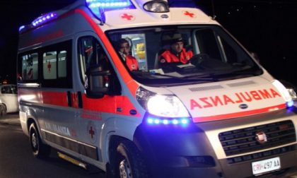 Incidente stradale a Marcaria, 43enne in ospedale SIRENE DI NOTTE