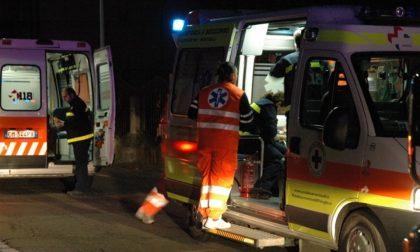 Incidente stradale ad Acquanegra, tre persone coinvolte SIRENE DI NOTTE