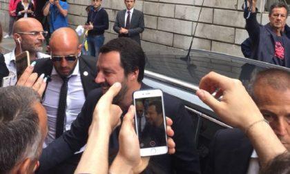 """Matteo Salvini a Como: """"Apriamo centro di espulsione in ogni Regione"""" FOTO e VIDEO"""