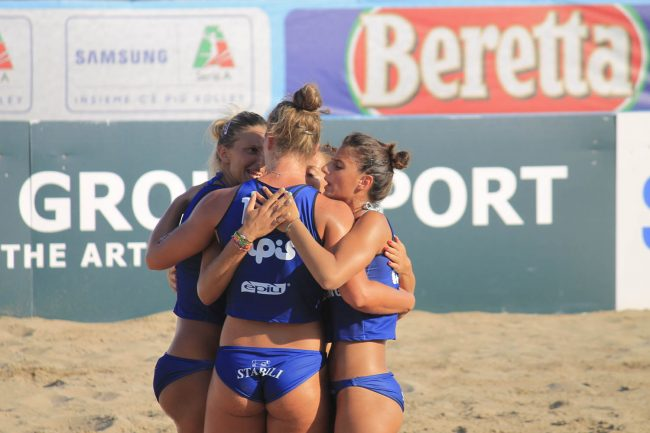 VBC Apis Casalmaggiore Campione d&#8217&#x3B;Italia di Sand Volley
