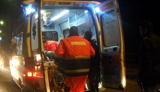 Evento violento a Poggio Rusco, soccorso 37enne SIRENE DI NOTTE
