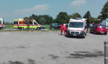 Ancora un incidente all'incrocio Tre Aranci fra Montichiari e Castiglione