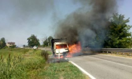 Paura a Remedello: due incendi nello stesso pomeriggio