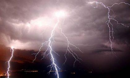 Allerta meteo della Protezione Civile per temporali forti