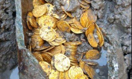 Monete romane antiche rinvenute a Como da équipe mantovana