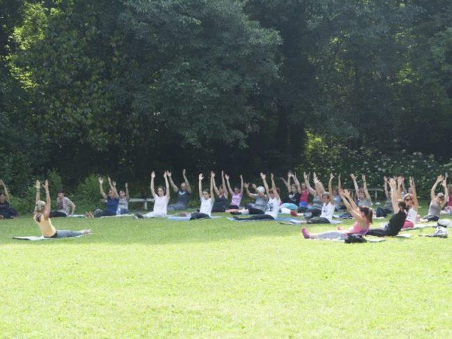 Lezioni gratuite di Bio-Pilates al Parco Bertone VIDEO