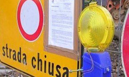Interrotta provinciale 63 a Bozzolo per rinforzo scarpata stradale