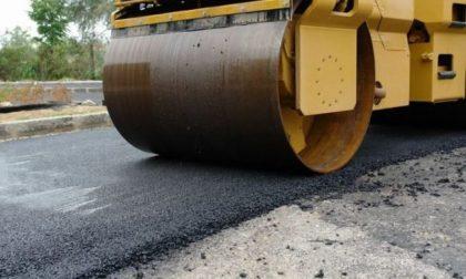 Lavori di asfaltatura, interrotta la Provinciale dei Colli a Goito