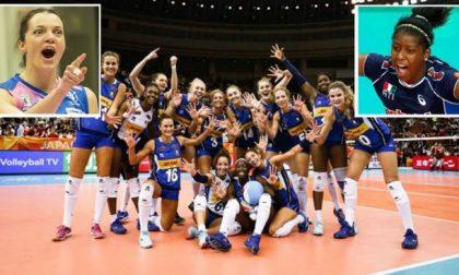 Italia volley femminile: oggi la finale, la Lombardia tifa Sylla e Serena