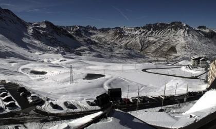 Fino a 20 cm di neve in Valtellina e Valchiavenna FOTO