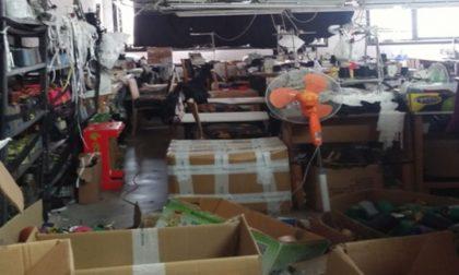 """Sfruttamento manodopera clandestina nel """"settore della calza"""": tre arrestati FOTO"""