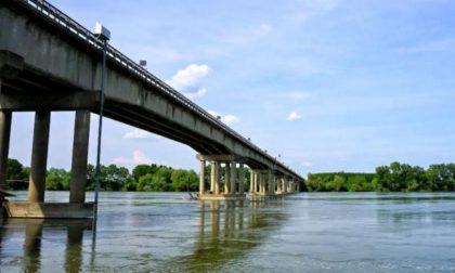Ponte sul Po a Sermide: presenza di fessurazioni