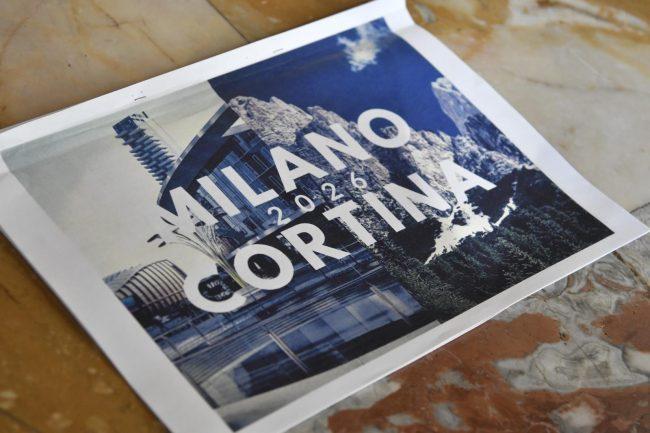 Approvata la candidatura Olimpiadi Milano-Cortina