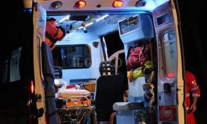 Brutta caduta in bici per un 52enne che finisce in ospedale SIRENE DI NOTTE