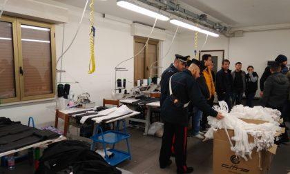 Sfruttamento manodopera clandestina: laboratorio tessile nei guai