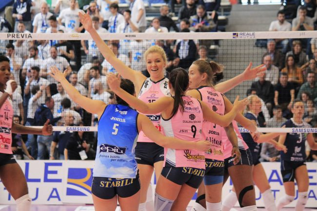 VBC Casalmaggiore, vittoria per 3-1 contro la Reale Mutua Fenera Chieri