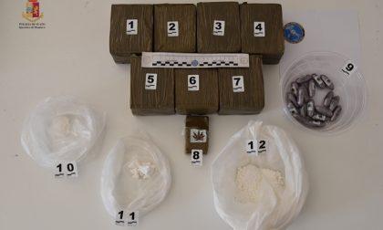 Spacciatore tunisino arrestato a Milano Rogoredo: nella sua abitazione a Mantova 9 chili di droga FOTO