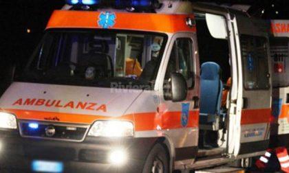 Ribaltamento stradale a Mantova SIRENE DI NOTTE