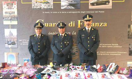 Finanza Mantova: sequestrati 20mila prodotti illegali