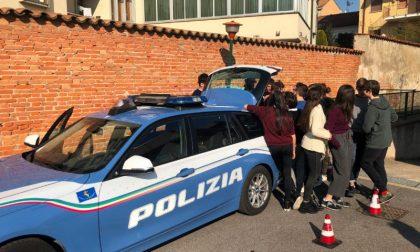 A lezione di sicurezza stradale con la Polstrada di Mantova