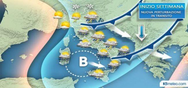 Stop al caldo: da questa sera torna il vento PREVISIONI METEO