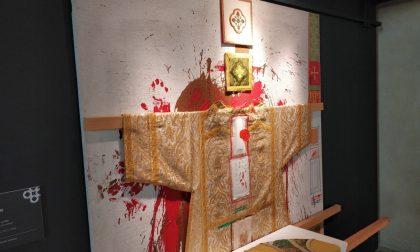 Mostra Nitsch a Mantova: tanto rosso, ma niente sangue e polemiche VIDEO FOTO