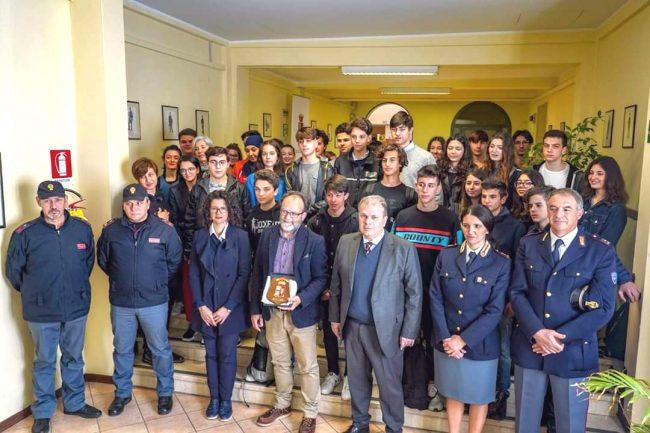A scuola con la polizia: premiati gli studenti mantovani