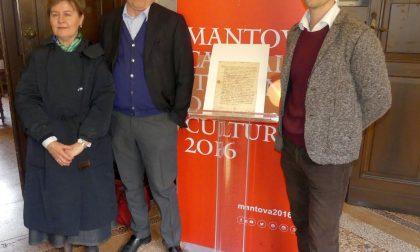 Documenti di Leonardo da Vinci esposti in mostra a Mantova