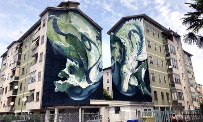 Lunetta a colori: la riqualificazione del quartiere di Mantova con writers e opere FOTO