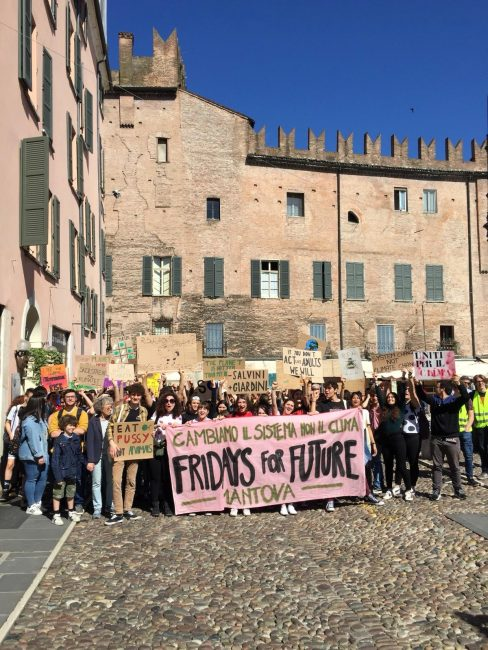 Fridays for future a Mantova