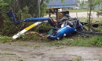 Elicottero caduto a Pegognaga: scatta l'indagine per omicidio colposo