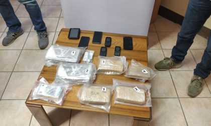 Maxi sequestro di droga e due arresti a Mantova VIDEO FOTO