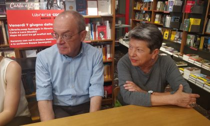 Luca e Carla salutano: in pensione i titolari della libreria Nautilus