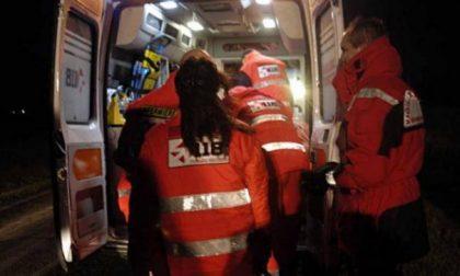 Malore a Suzzara, 55enne finisce in ospedale SIRENE DI NOTTE