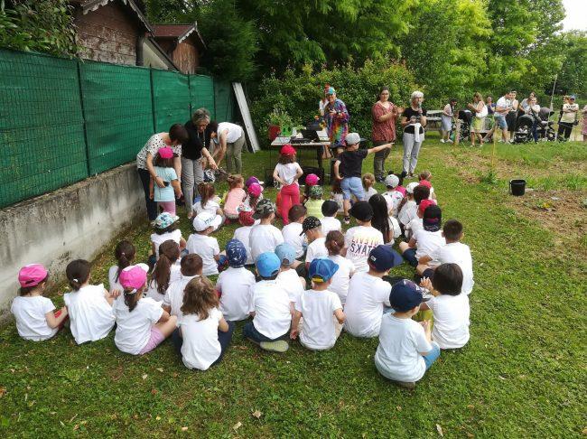 Un momento delle iniziative organizzate da Comune e scuola