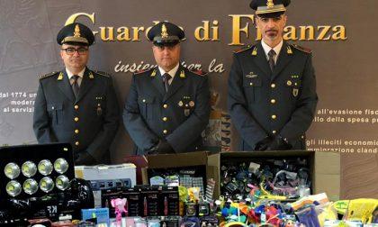 Maxi sequestro di prodotti non sicuri al mercato settimanale di Castel d'Ario