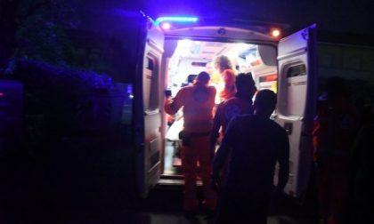 Scontro tra auto e moto, cinque persone coinvolte SIRENE DI NOTTE