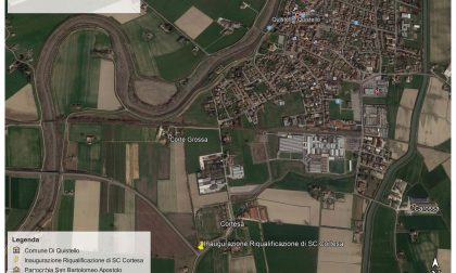 Strada Cortesa a Quistello, completata la riqualificazione