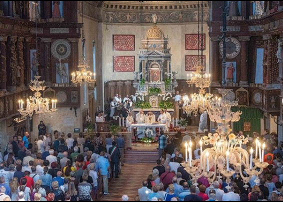 Raduno nazionale dei madonnari: successo a Curtatone