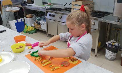 """""""Mani in pasta"""" laboratorio di cucina per bambini alla Fiera Millenaria"""